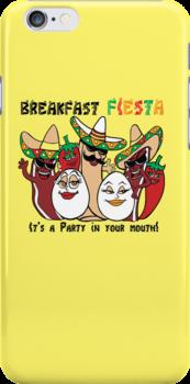 Breakfast Fiesta  by Ameda Nowlin