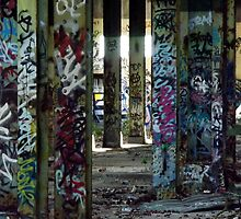 Graffiti Forest by Paul Todd