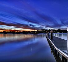 Bayview Park Twilight by Ian Berry