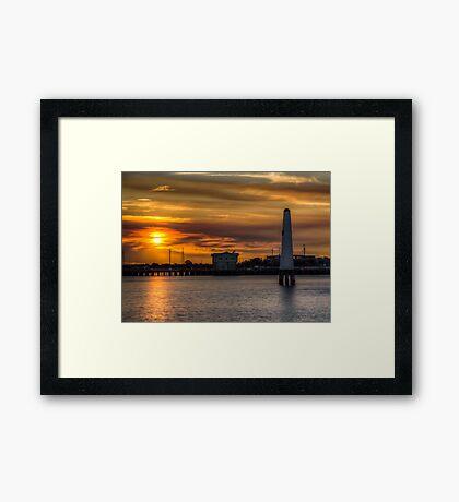 LightHouse's (HDR) Framed Print