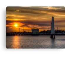 LightHouse's (HDR) Canvas Print