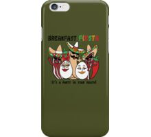 Breakfast Fiesta 2 iPhone Case/Skin
