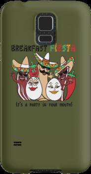 Breakfast Fiesta 2 by Ameda Nowlin