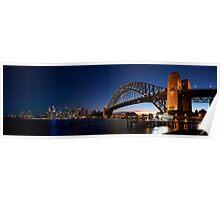 Sydney Harbour Bridge Panorama Poster
