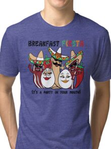 Breakfast Fiesta  Tri-blend T-Shirt