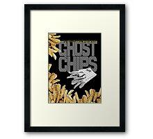 ghost chips Framed Print