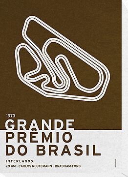 Legendary Races - 1973 Grande Premio do Brasil by Chungkong