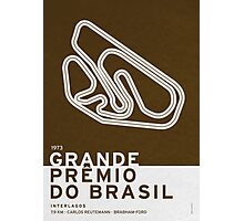 Legendary Races - 1973 Grande Premio do Brasil Photographic Print