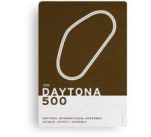 Legendary Races - 1959 Daytona 500 Canvas Print