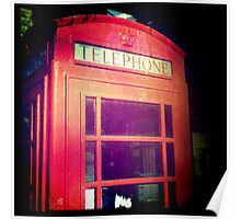 Cambridge Collection: Phone Box Poster