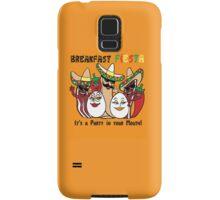 Breakfast Fiesta 3 Samsung Galaxy Case/Skin