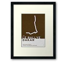 Legendary Races - 1978 Le rallye Dakar Framed Print