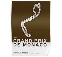 Legendary Races - 1929 Grand Prix de Monaco Poster