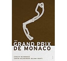 Legendary Races - 1929 Grand Prix de Monaco Photographic Print