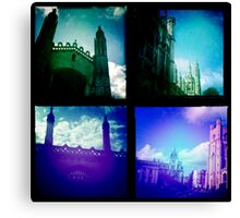 Cambridge Collection: Towers Canvas Print