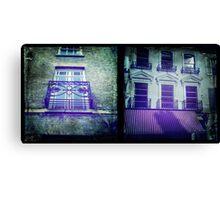 Cambridge Collection: Windows Canvas Print
