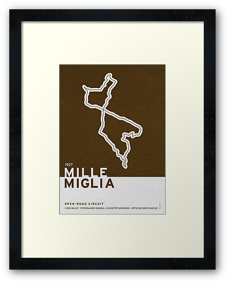 Legendary Races - 1927 Mille Miglia by Chungkong
