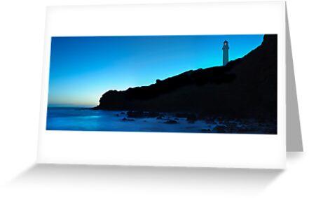 Darkside of SplitPoint Lighthouse by Dale Frank
