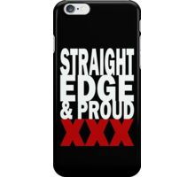 Edge and Proud (for dark shirts) iPhone Case/Skin