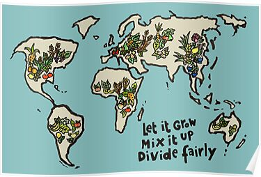 Let it grow, Mix it up, Divide Fairly by Sanne Thijs