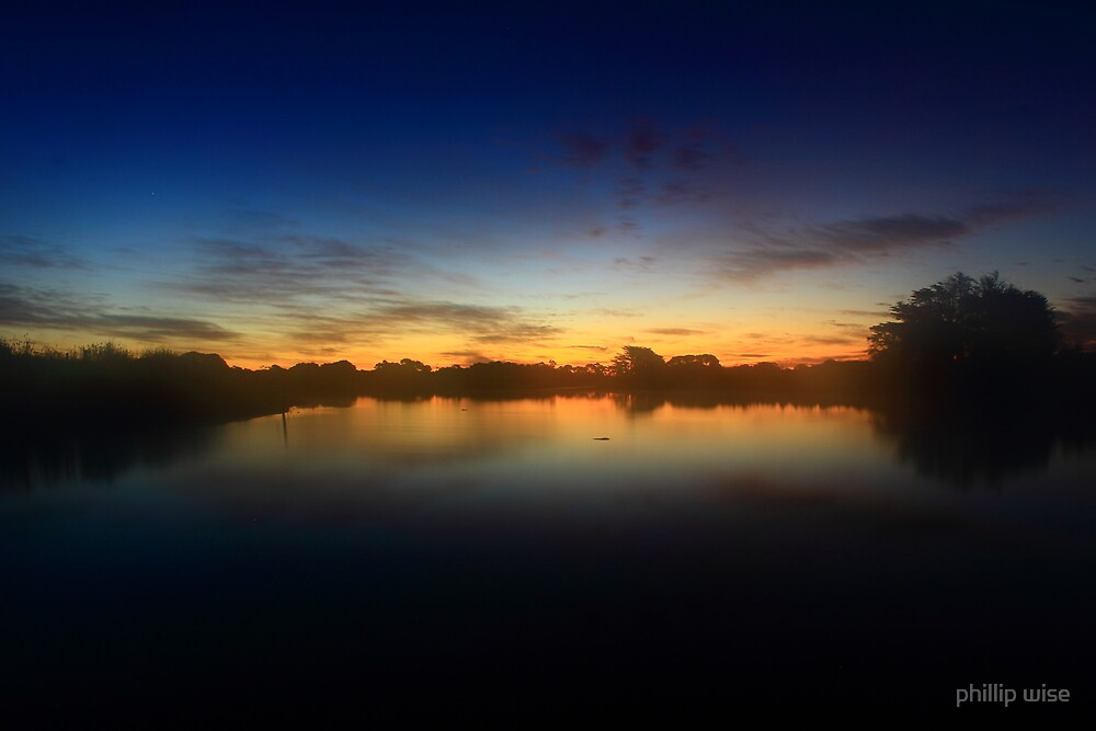 Alcomie sunset 2# by phillip wise