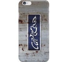 Captcha iPhone Case/Skin