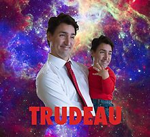 Justin Trudeau Galaxy by azariath