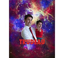 Justin Trudeau Galaxy Photographic Print