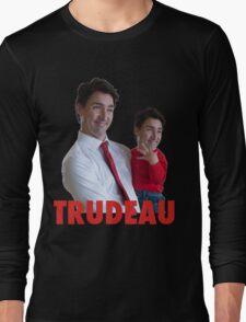 Justin Trudeau Galaxy Long Sleeve T-Shirt