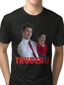 Justin Trudeau Galaxy Tri-blend T-Shirt