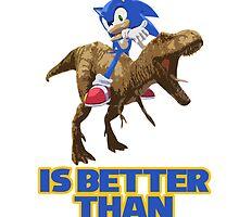Sonic the Hedgehog - Yoshi by Almeister5000