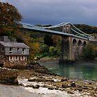 Menai Bridge by Rachel Slater