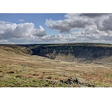 West Yorkshire Hills Photographic Print