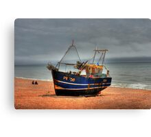 Hastings fishing boat Canvas Print