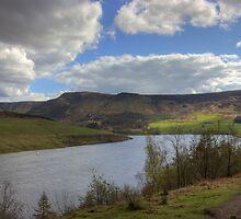 Dovestone Reservoir by Devereux Purdon
