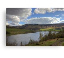 Dovestone Reservoir Canvas Print