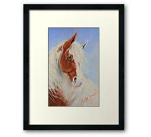 Little Red & White Gypsy Framed Print