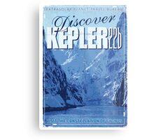 Exoplanet Travel Poster KEPLER 22b Metal Print