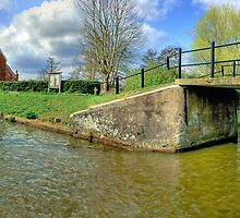 Papercourt Lock Panorama - HDR by Colin  Williams Photography