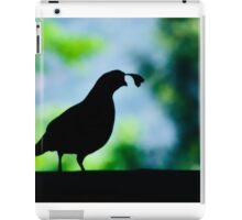 Mysterious Quail iPad Case/Skin