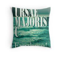 Exoplanet Travel Poster Ursae Majoris Throw Pillow
