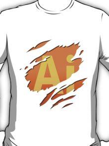 Graphic artist - level : Illustrator T-Shirt