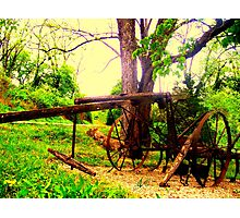 1890s Collins Cultivator Photographic Print