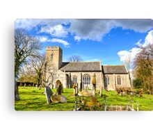 All Staints Church, EastTuddenham (HDR) Canvas Print