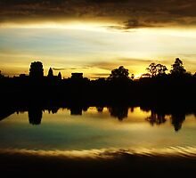 Temples - Sunrise at Angkor Wat by Keira Reynolds