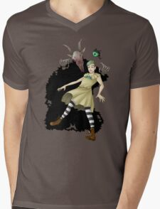 Jack Bow Mens V-Neck T-Shirt