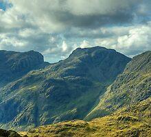 Bowfell Summit..Views West by Jamie  Green