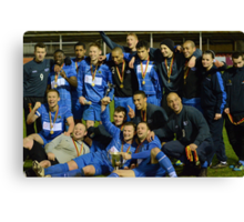 Gornal Athletic - Cup Winners 2012 Canvas Print