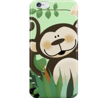 Jungle Monkey Case iPhone Case/Skin