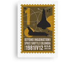 Starship 01 poststamp - Spaceshuttle  Canvas Print